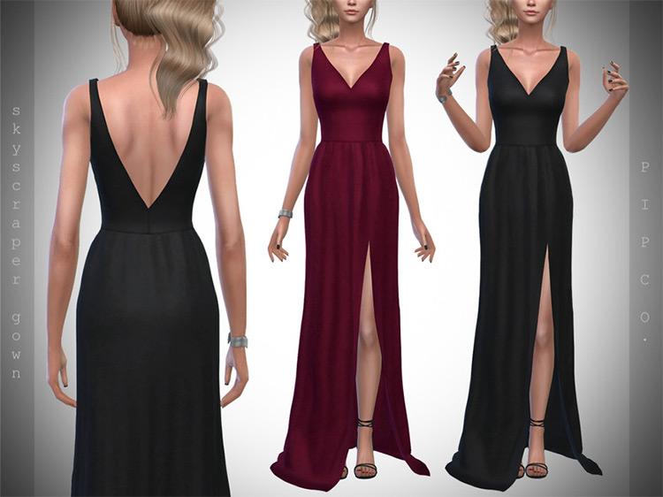 Skyscraper Gown / Sims 4 CC