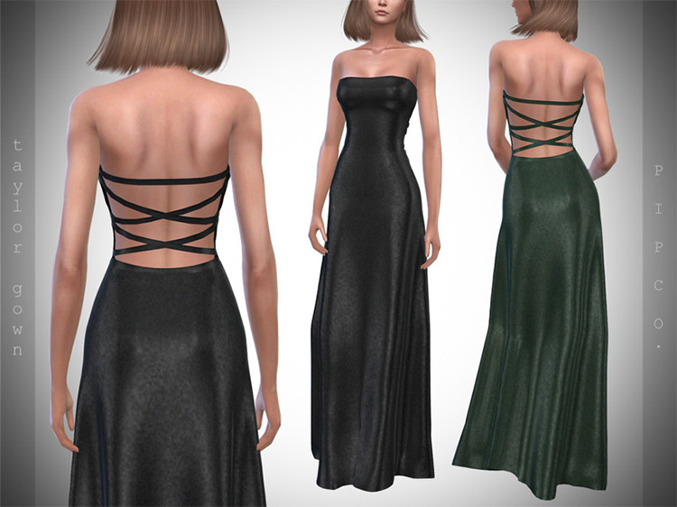 Taylor Gown / Sims 4 CC