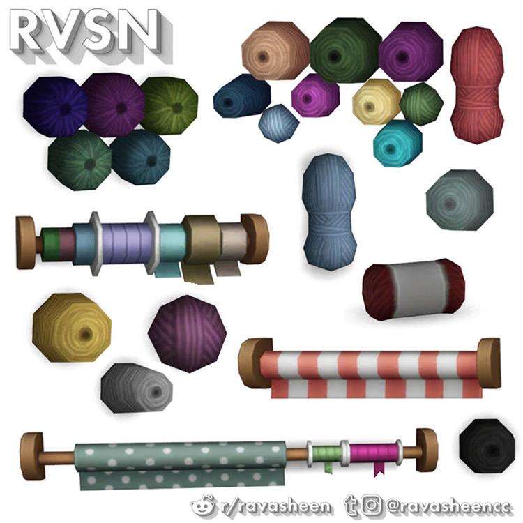 Knit Happens Clutter Pack / TS4 CC