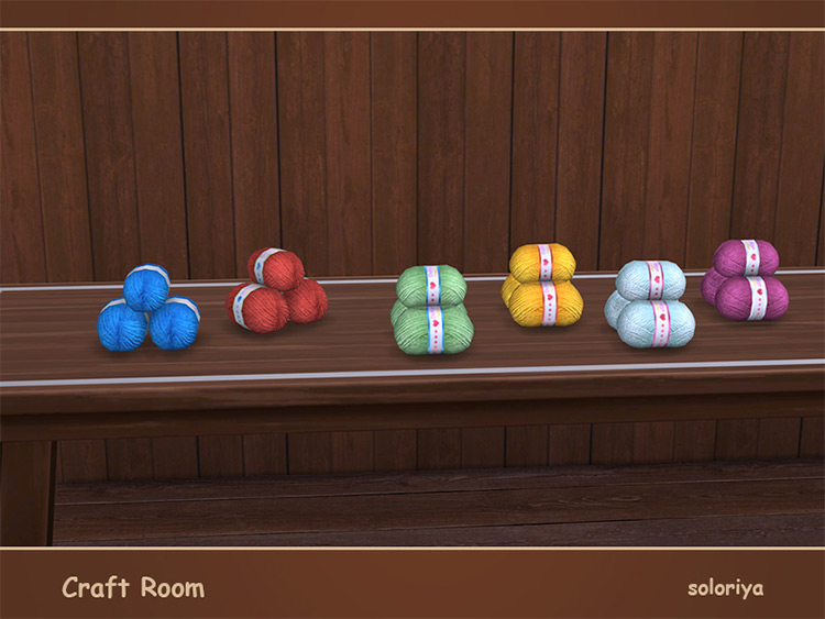Decorative Yarn CC for The Sims 4
