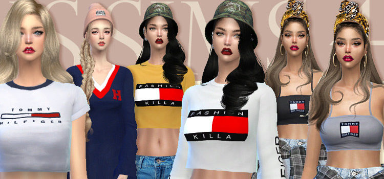 Best Sims 4 Tommy Hilfiger CC (Male + Female)