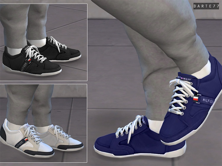 Tommy Hilfiger Sneakers / Sims 4 CC