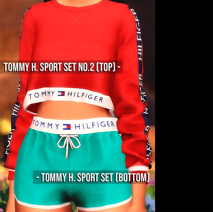 Shine Forever Tommy H. Sport Set / TS4 CC