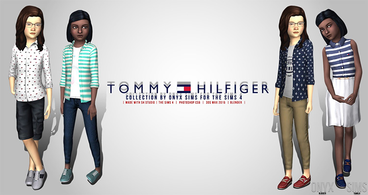 The Tommy Hilfiger Kids Collection / TS4 CC
