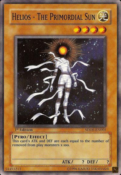 Helios the Primordial Sun / Yu-Gi-Oh Card