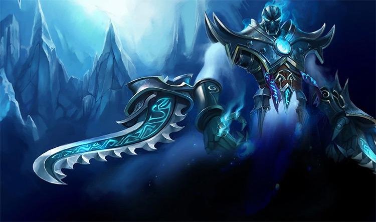 Frozen Terror Nocturne LoL skin