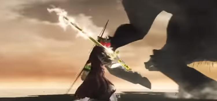 Lightning Defender Greatsword against Ancient Dragon / Dark Souls II