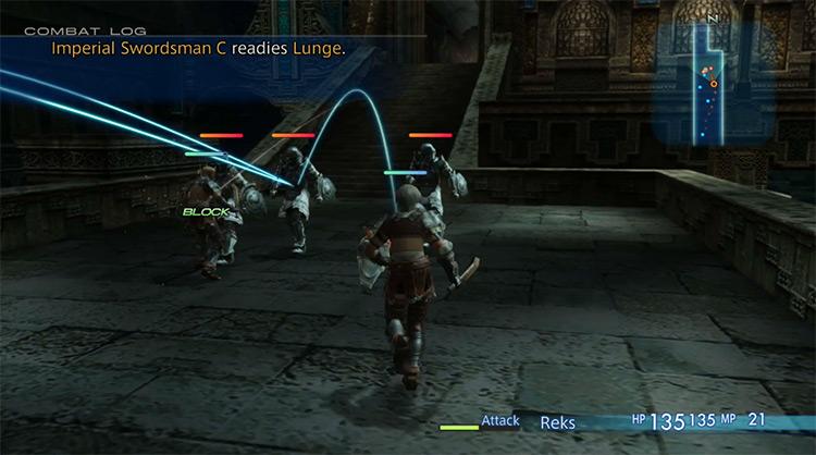 Final Fantasy XII: The Zodiac Age / Nintendo Switch gameplay