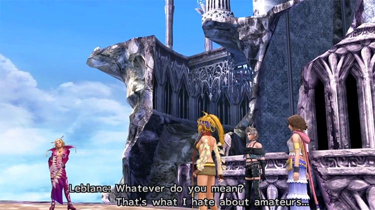 Final Fantasy X/X-2 PS Vita gameplay