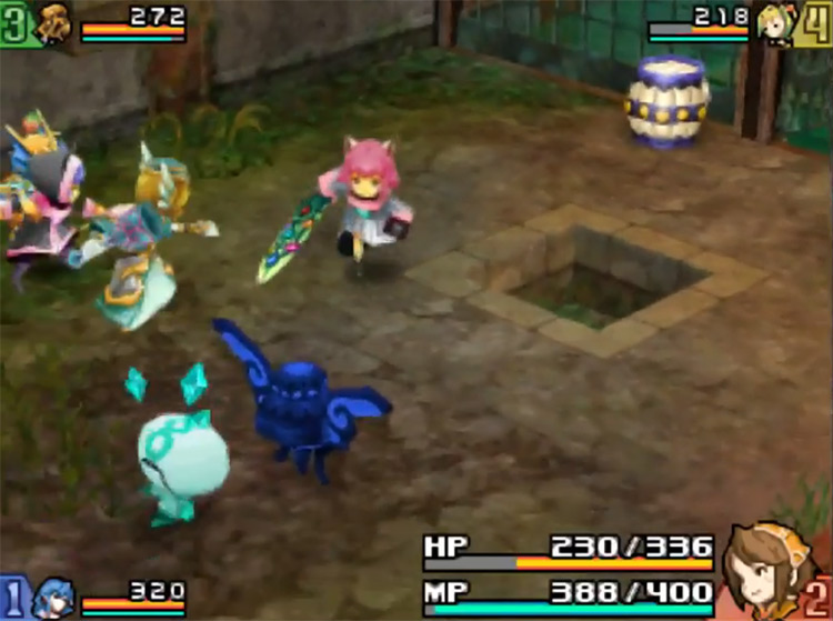 Final Fantasy Crystal Chronicles: Echoes of Time NDS game