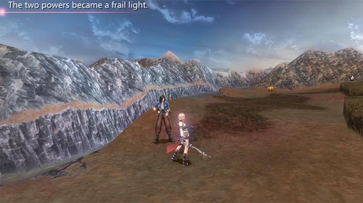 Dissidia 012 Final Fantasy gameplay PSP