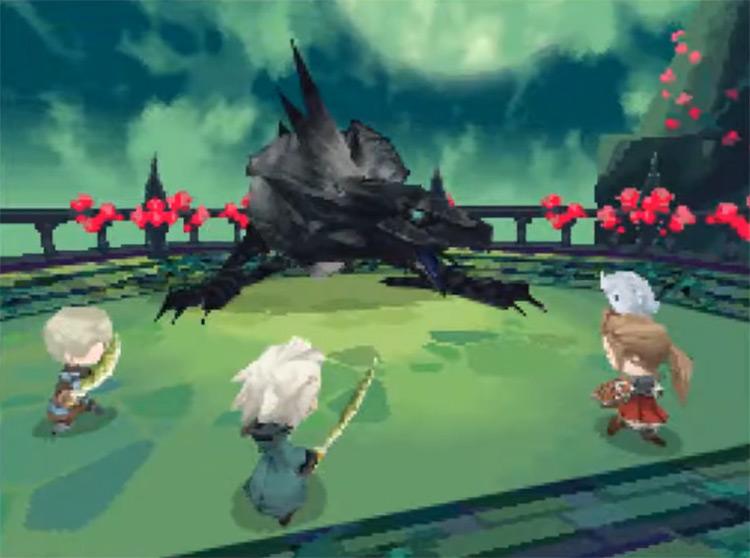 Final Fantasy: The 4 Heroes of Light game screenshot