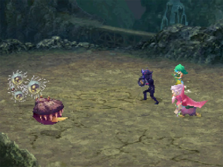 Final Fantasy IV game NDS