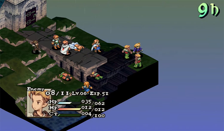 Final Fantasy Tactics: The War of the Lions on PlayStation Portable