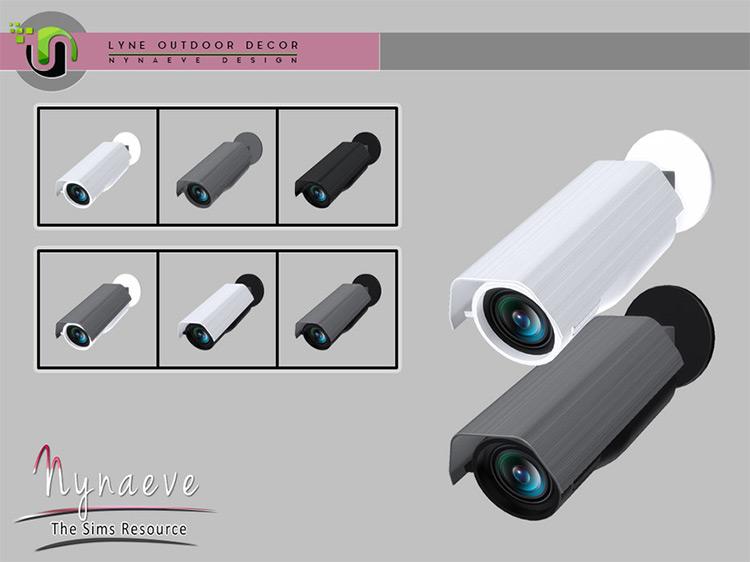 Lyne Surveillance Camera / TS4 CC