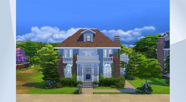 Secret Spy's House Lot / Sims 4