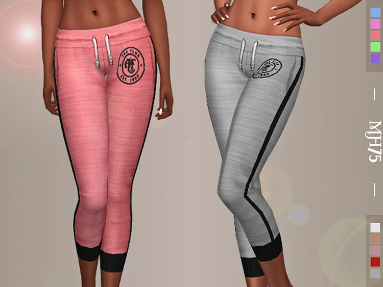 Abercrombie & Fitch Track Bottoms / TS4 CC