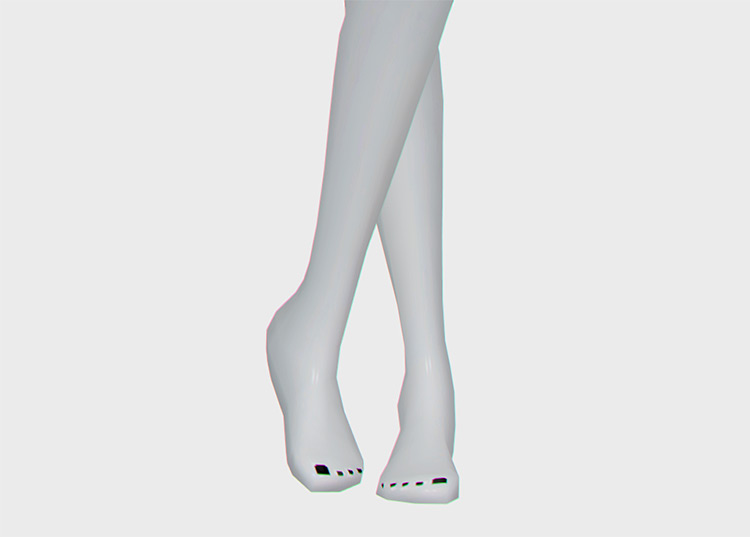 Trendy Toenail Polishes / Sims 4 CC