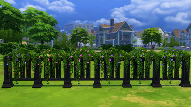 Vines for Fences / Sims 4 CC
