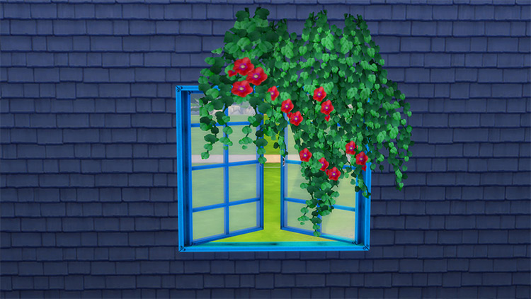 Tropical Vines in Bloom for The Sims 4