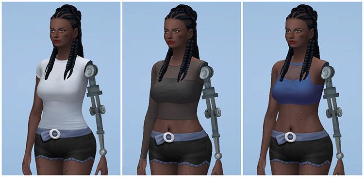 Female Robot Arm / Sims 4 CC