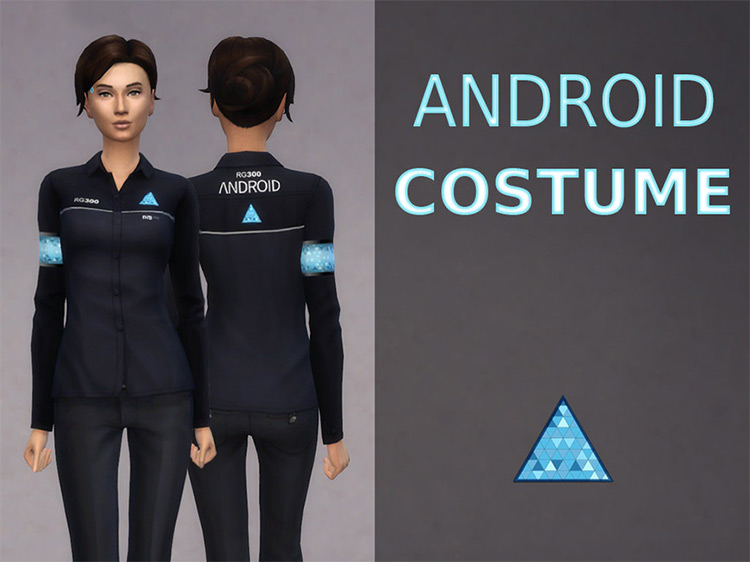 Android Costume for The Sims 4