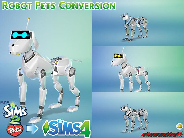 TS2 into Sims 4 Robot Pet Conversion / TS4 CC