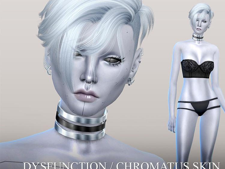 Dysfunction Chromatus Skin for The Sims 4