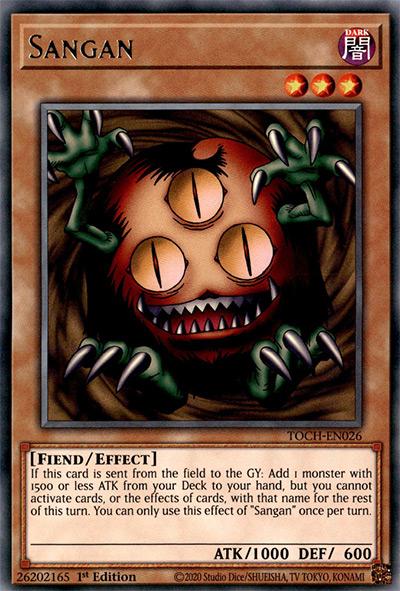 Sangan YGO Card