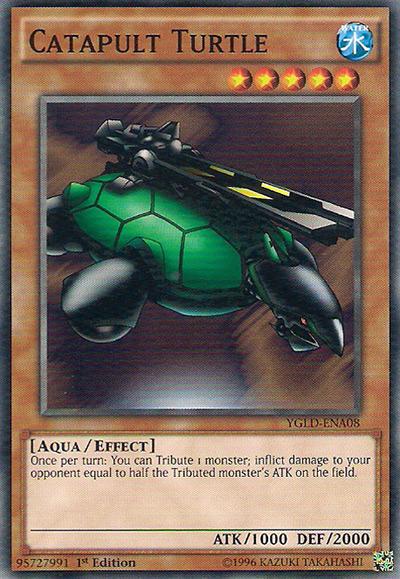 Catapult Turtle Yu-Gi-Oh Card