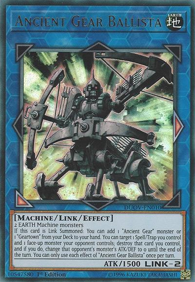 Ancient Gear Ballista YGO Card