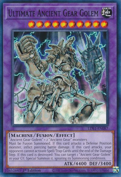 Ultimate Ancient Gear Golem Yu-Gi-Oh Card