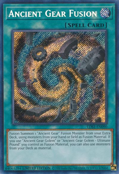 Ancient Gear Fusion YGO Card