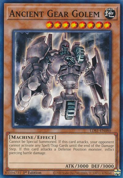 Ancient Gear Golem Yu-Gi-Oh Card