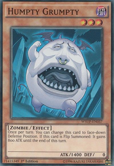 Humpty Grumpty Yu-Gi-Oh Card