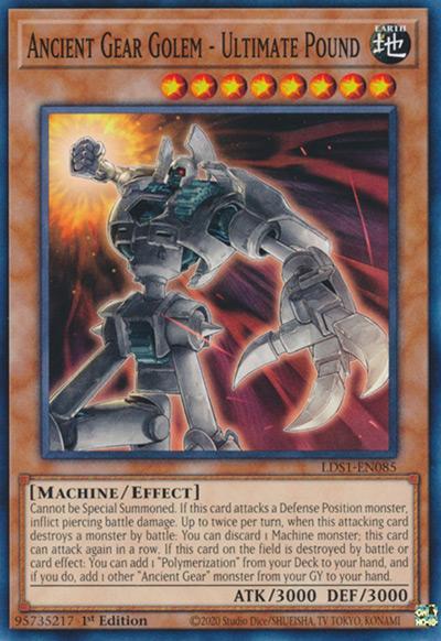 Ancient Gear Golem – Ultimate Pound Yu-Gi-Oh Card