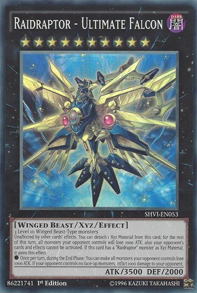 Raidraptor Ultimate Falcon YGO Card