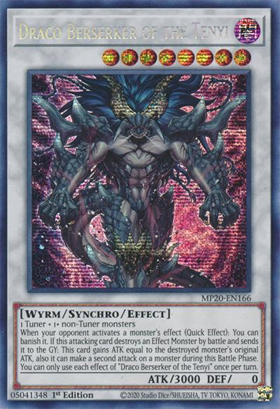 Draco Beserker of the Tenyi Yu-Gi-Oh Card