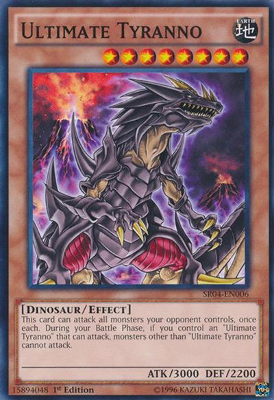 Ultimate Tyranno Yu-Gi-Oh Card