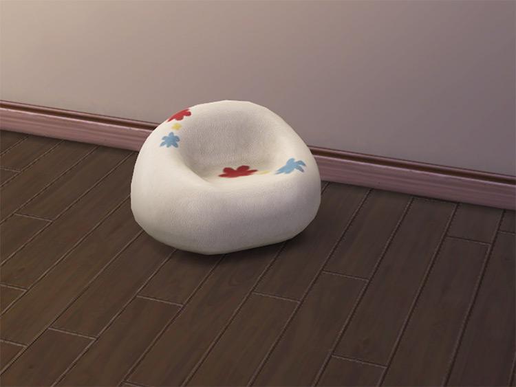 Kinder10000's Bean Bag Chair / TS4 CC