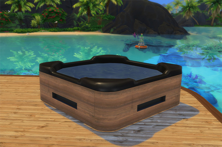 Custom Jacuzzi CC for The Sims 4