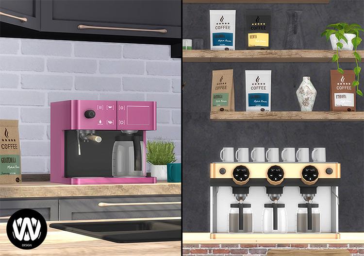 Coffee Makers Custom Designed TS4 CC