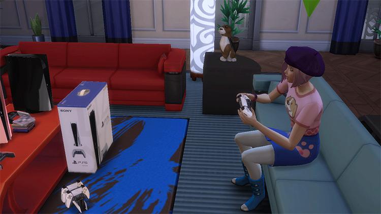 PlayStation 5 / Sims 4 CC