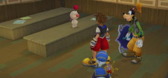 Sora, Donald & Goofy with Synthesis Moogle in KH 1.5 HD