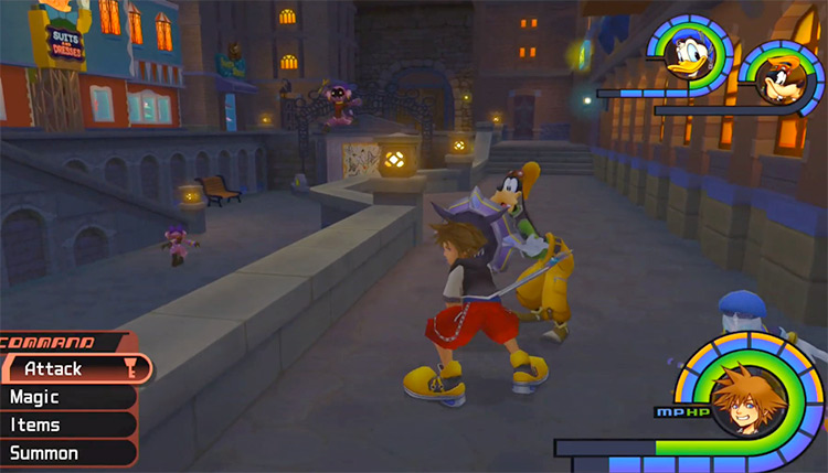 Sniperwilds in Traverse Town / KH 1.5 HD