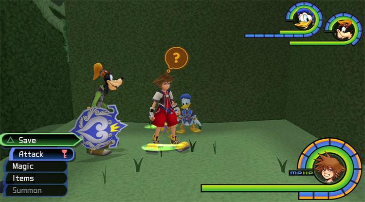 Wonderland Save Point World in KH 1.5 HD