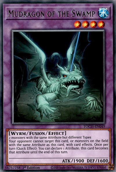 Mudragon Of The Swamp Yu-Gi-Oh Card