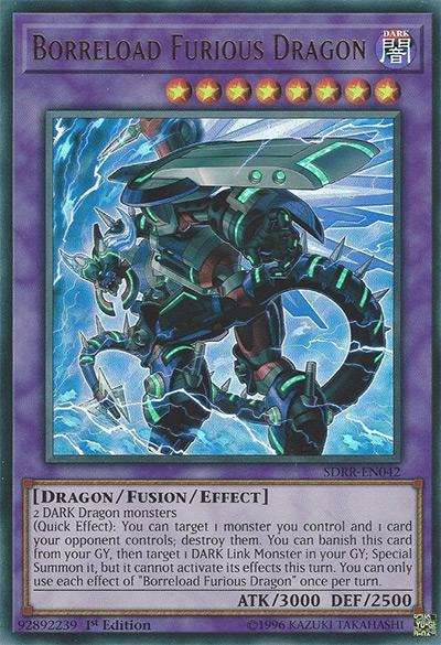 Borreload Furious Dragon YGO Card