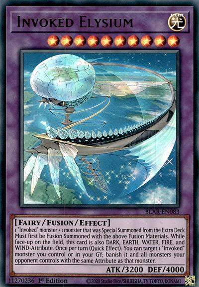 Invoked Elysium YGO Card