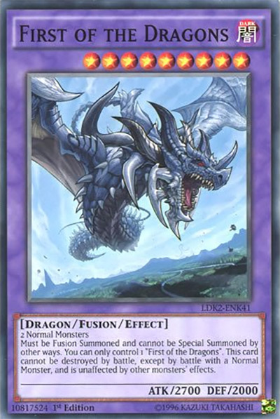First of the Dragons YGO Card